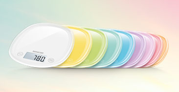 Pastels Collection Kitchen Scales